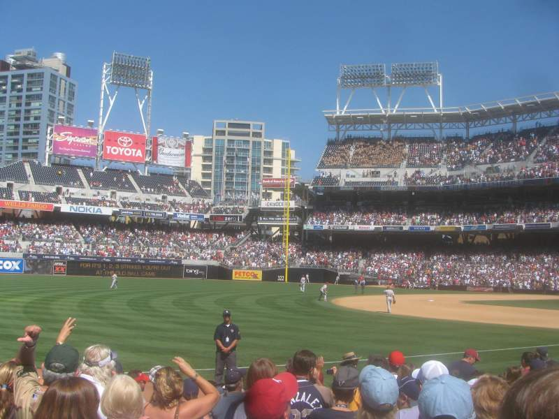 Petco Park, section: 112