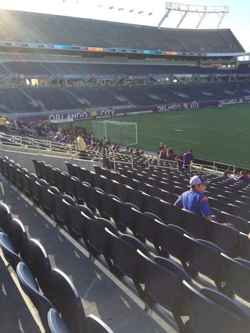Camping World Stadium, section: 119, row: Q, seat: 18