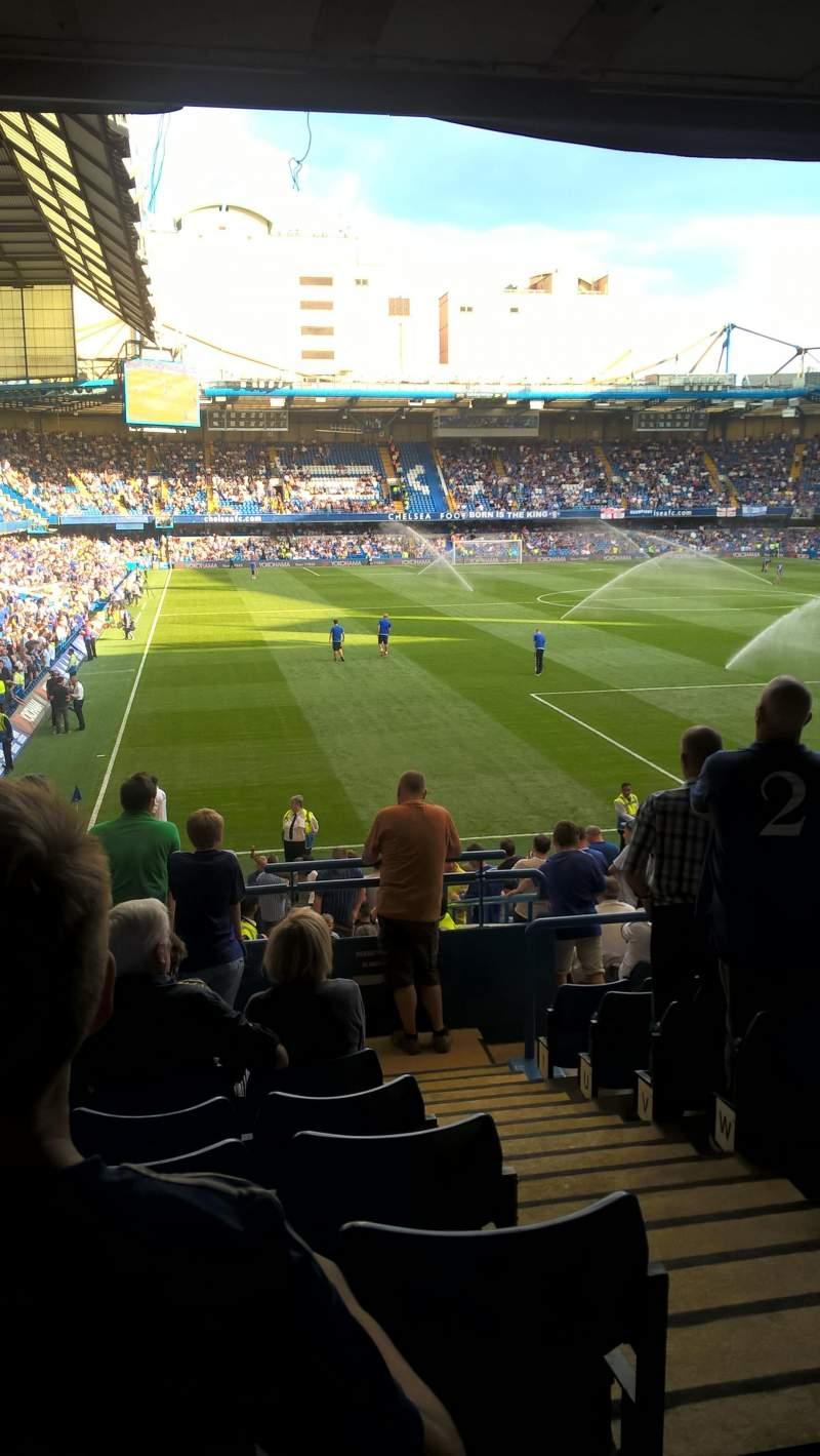 Stamford Bridge, section: Matthew Harding Lower block 15, row: CC, seat: 148