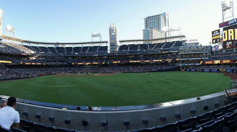 PETCO Park, section: 135, row: 4, seat: 13