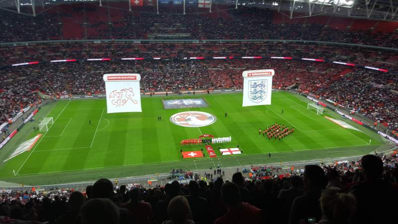 Seating view for Wembley Stadium Section 502 Row 26 Seat 39