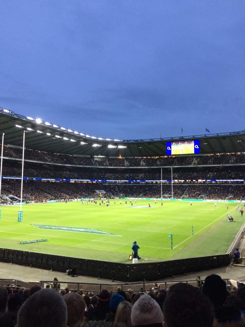 Seating view for Twickenham Stadium Section L31 Row 23 Seat 62