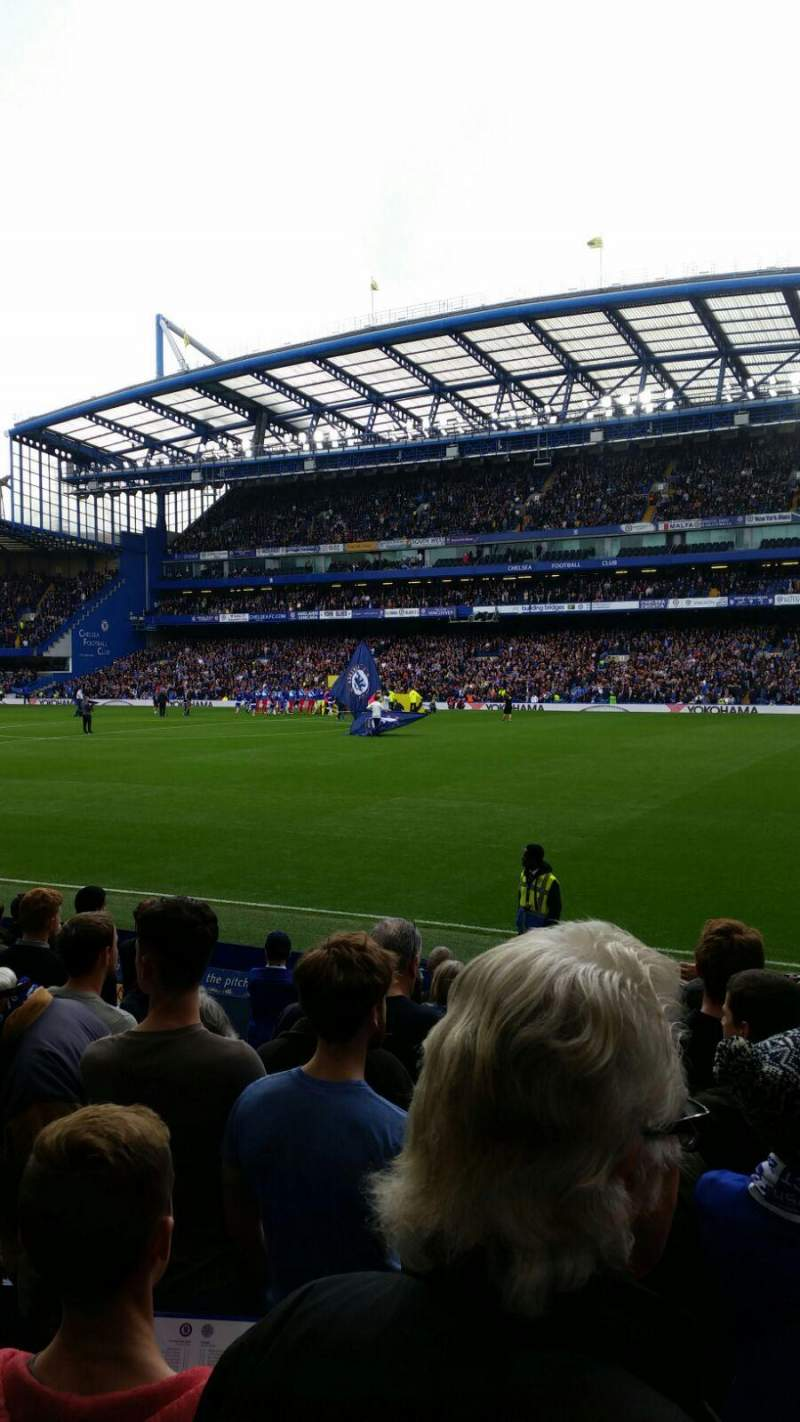 Seating view for Stamford Bridge Section East Lower North Row O Seat 172