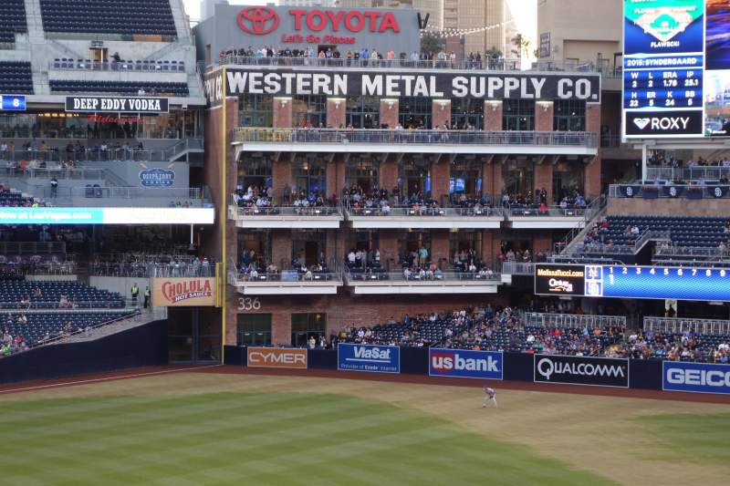 PETCO Park, section: 221, row: 4, seat: 3, 4