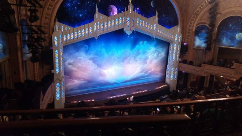 Seating view for Eugene O'Neill Theatre Section Mezz Row F Seat 5