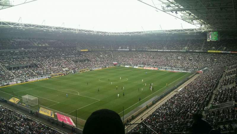 Borussia Park, section: 6A, row: 10, seat: 4