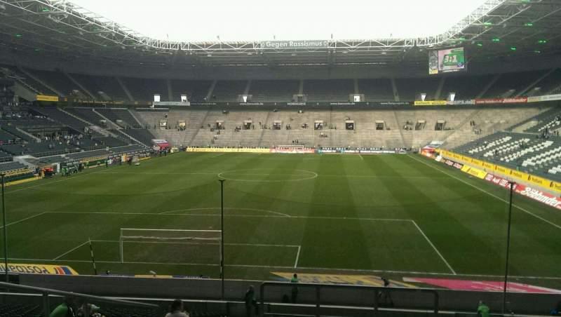 Borussia Park, section: 4, row: 26, seat: 1