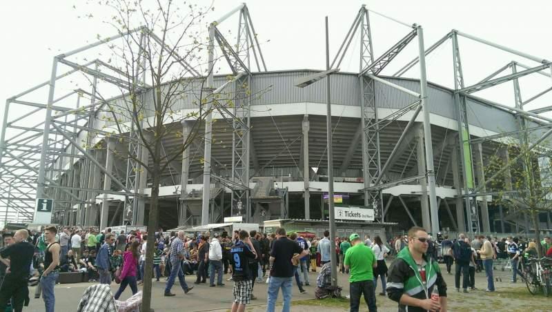 Borussia Park, section: Outside