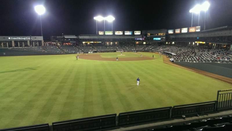 Dell Diamond, section: Home Run Porch, row: 5, seat: 9