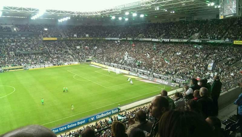 Borussia Park, section: 10A, row: 4, seat: 15