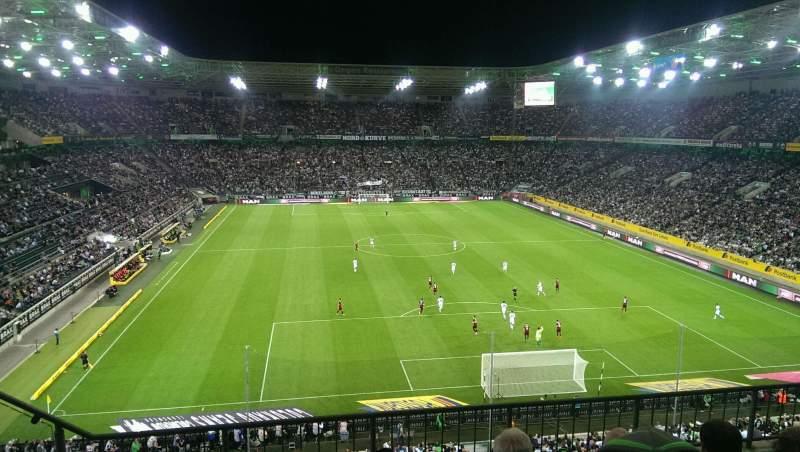 Borussia Park, section: 3A, row: 4, seat: 10