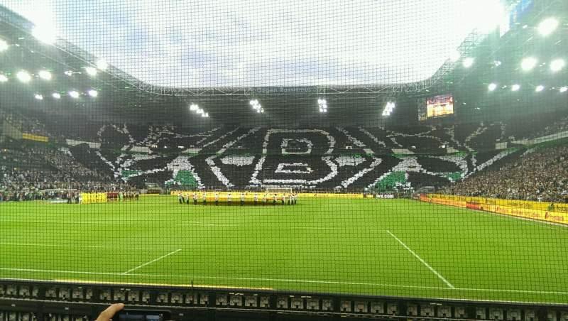 Borussia Park, section: 5, row: 5, seat: 31
