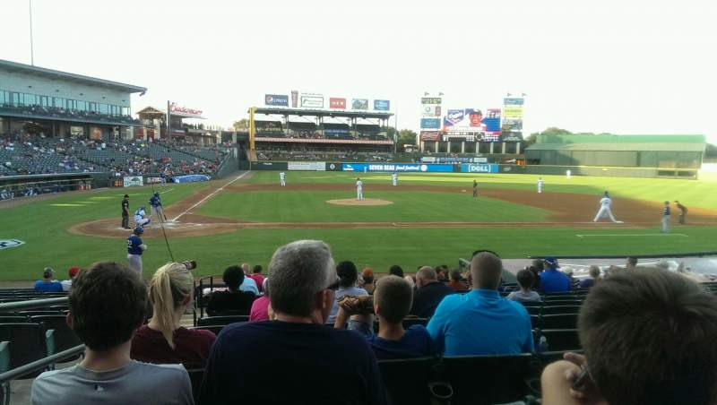 Dell Diamond, section: 122, row: 15, seat: 2