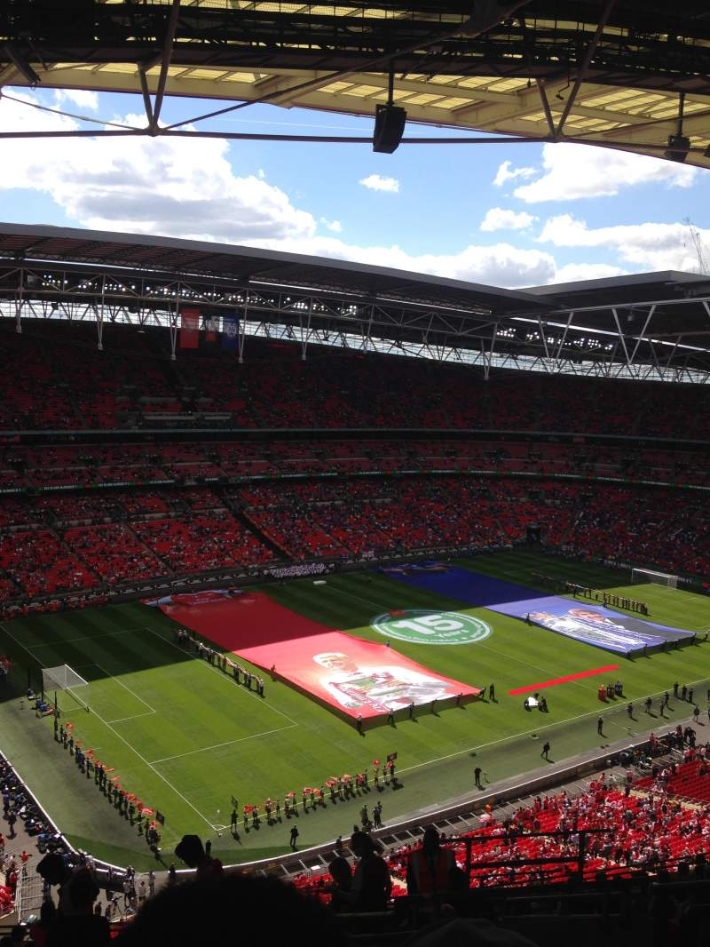 Wembley Stadium, section: 506, row: 20, seat: 174
