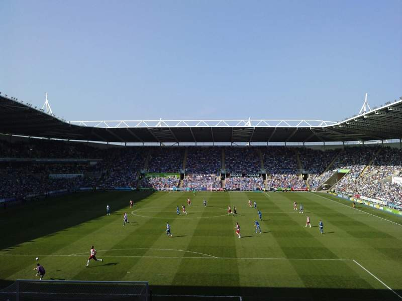 Seating view for Madejski Stadium Section R28 Row Q Seat 0089
