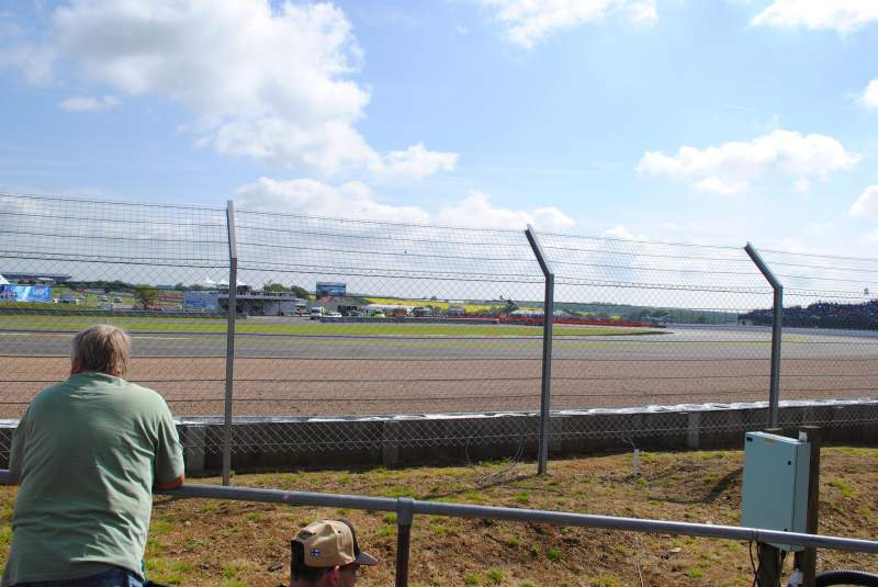 Seating view for Silverstone Circuit Section General Admission
