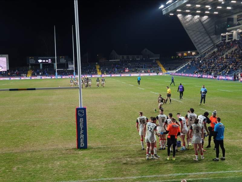 Seating view for Headingley Stadium Section Global Stand Terrace