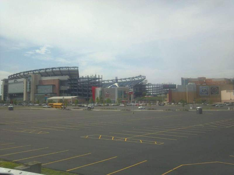Gillette Stadium, section: Street