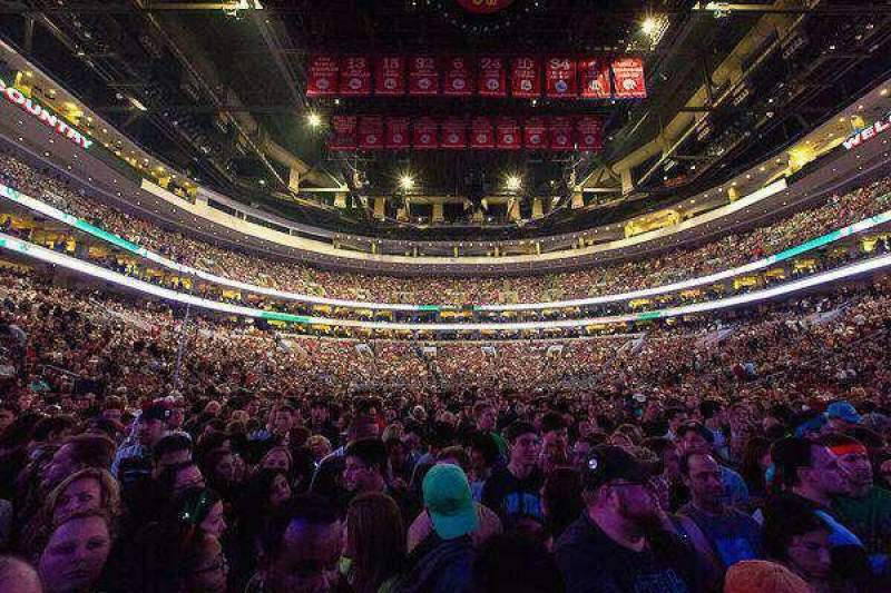 Seating view for Wells Fargo Center Section Stage