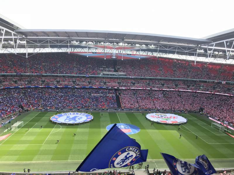 Seating view for Wembley Stadium Section 501 Row 13 Seat 30