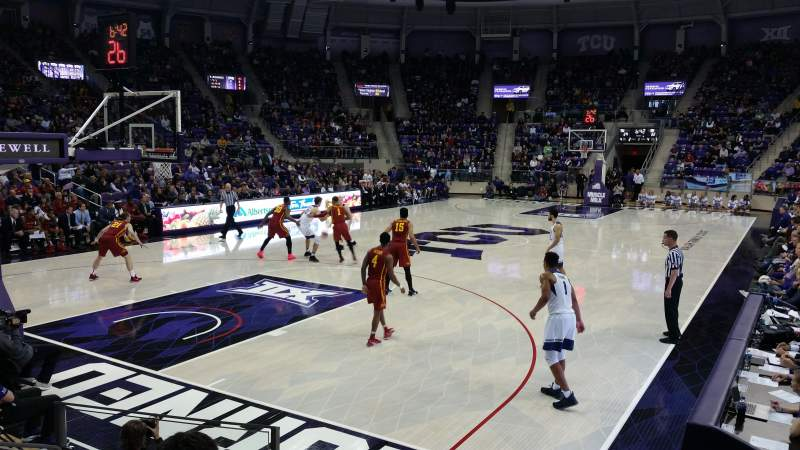 Seating view for Schollmaier Arena Section 105 Row D Seat 11