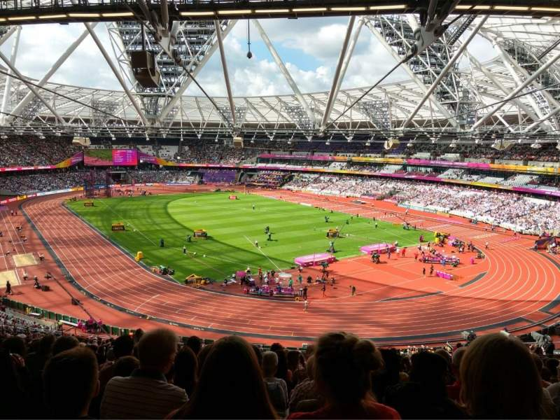 Seating view for London Stadium Section 245 Row 61 Seat 142