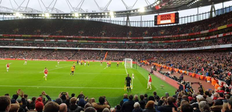 Seating view for Emirates Stadium Section 29 Row 15 Seat 918