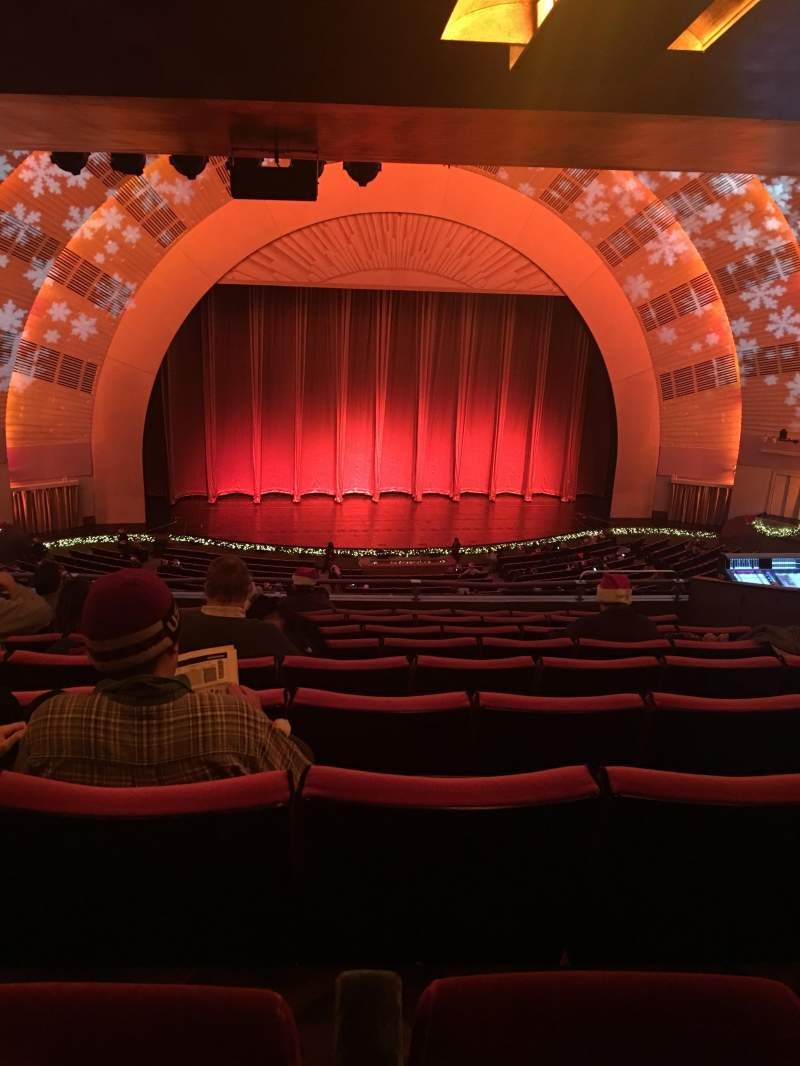 Seating view for Radio City Music Hall Section 2nd Mezzanine 5 Row J Seat 506-507
