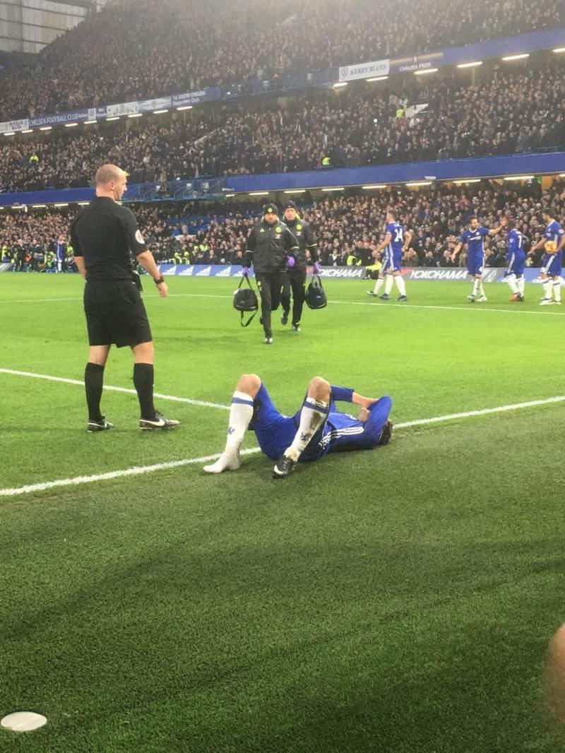 Stamford Bridge, section: SL4, row: 1, seat: 102