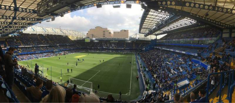 Seating view for Stamford Bridge Section U09 Row G Seat 317