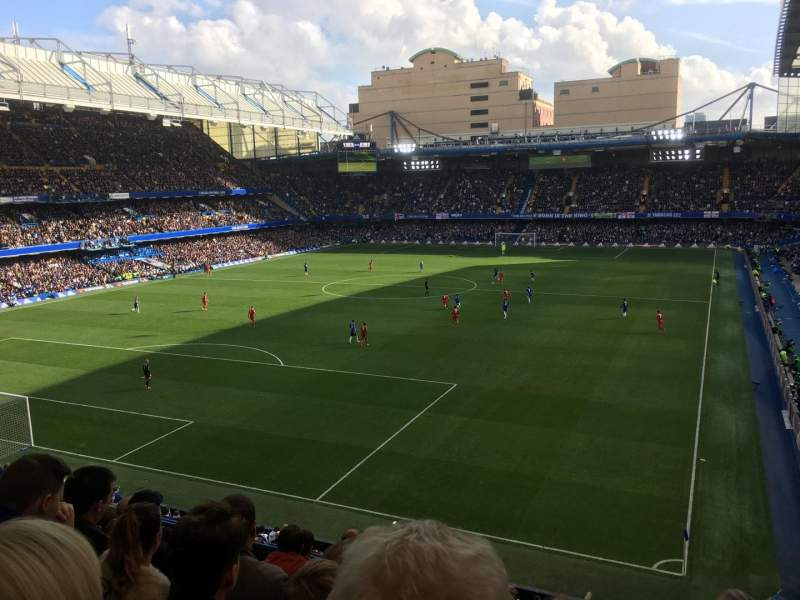 Stamford Bridge, section: U09, row: G, seat: 317