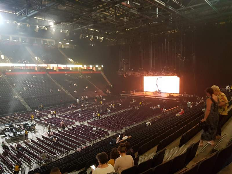 Manchester Arena, section: 112, row: X, seat: 12