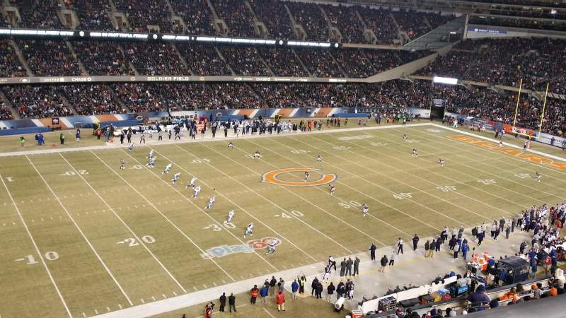 Seating view for Soldier Field Section 441 Row 1 Seat 5