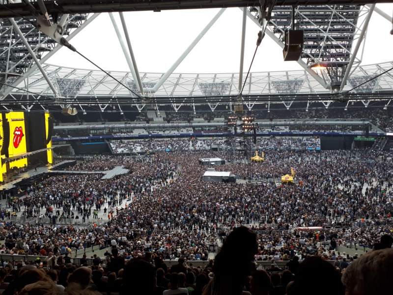 Seating view for London Stadium Section 235 Row 58 Seat 469