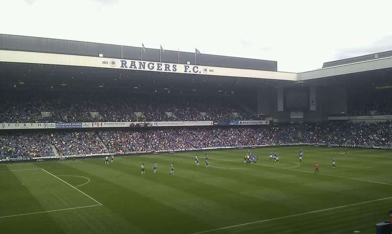 Seating view for Ibrox Park Section MRS Row C