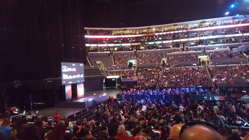 Seating view for Staples Center Section 112 Row 14