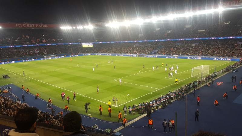 Seating view for Parc des Princes Section 324 Row 3 Seat 68