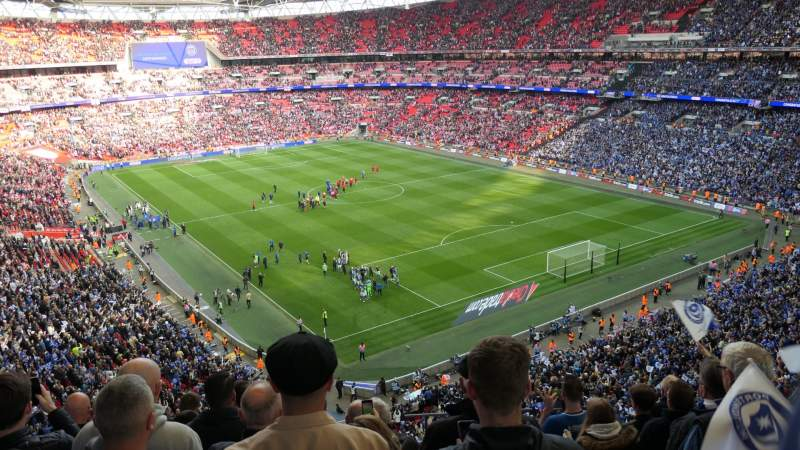 Seating view for Wembley Stadium Section 544 Row 7 Seat 135
