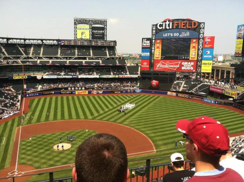 Seating view for Citi field Section 507 Row 5  Seat 5
