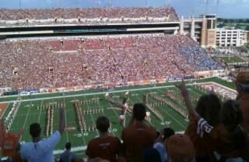 Seating view for Texas Memorial Stadium Section 106 Row 13 Seat 30