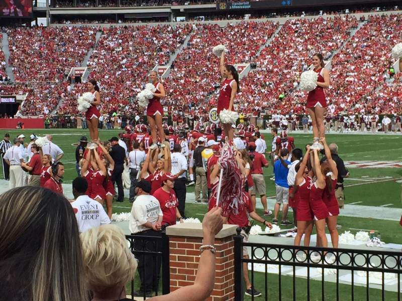 Seating view for Bryant-Denny Stadium Section C Row 4 Seat 12