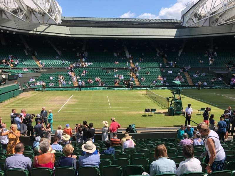 Seating view for Wimbledon, Centre Court Section 204 Row A Seat 87