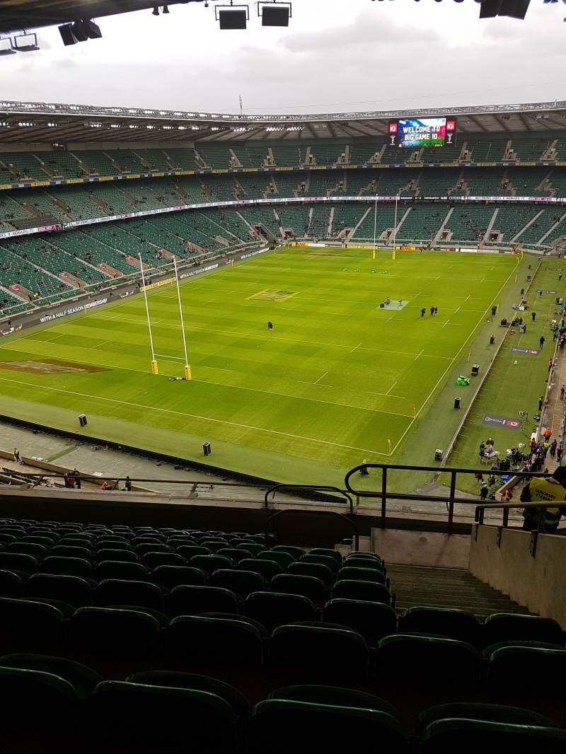 Twickenham Stadium, section: U16