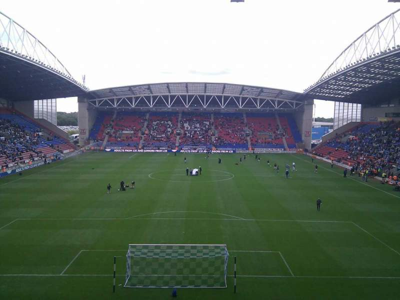 DW Stadium, section: North Stand, row: CC