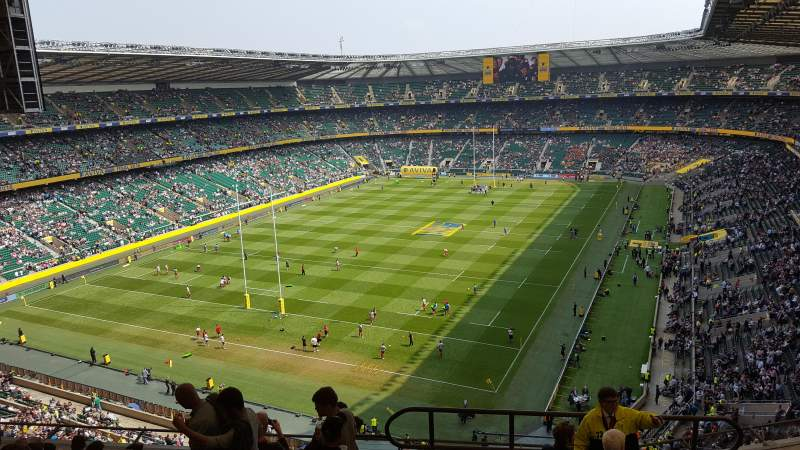 Seating view for Twickenham Stadium Section U16 Row L Seat 21