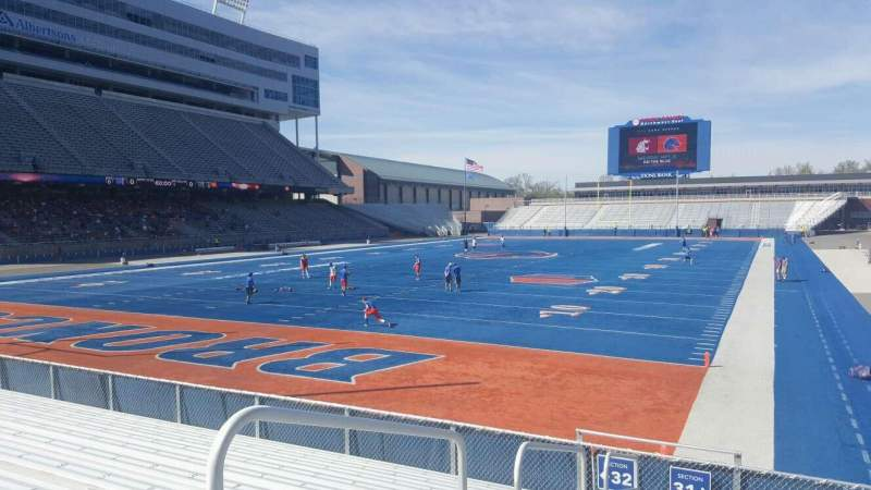 Albertsons Stadium, section: 31, row: M, seat: 16