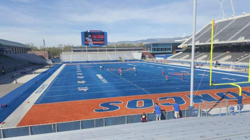 Albertsons Stadium, section: 34, row: S, seat: 22