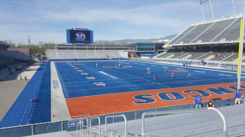 Albertsons Stadium, section: 35, row: Q, seat: 2
