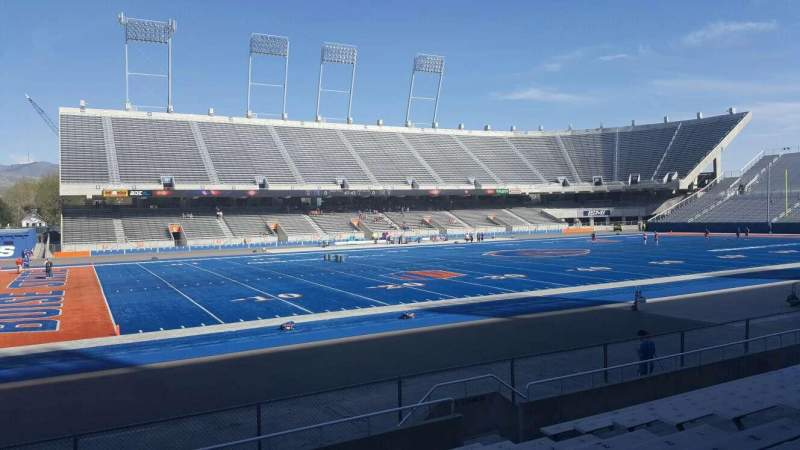 Albertsons Stadium, section: 11, row: K, seat: 13