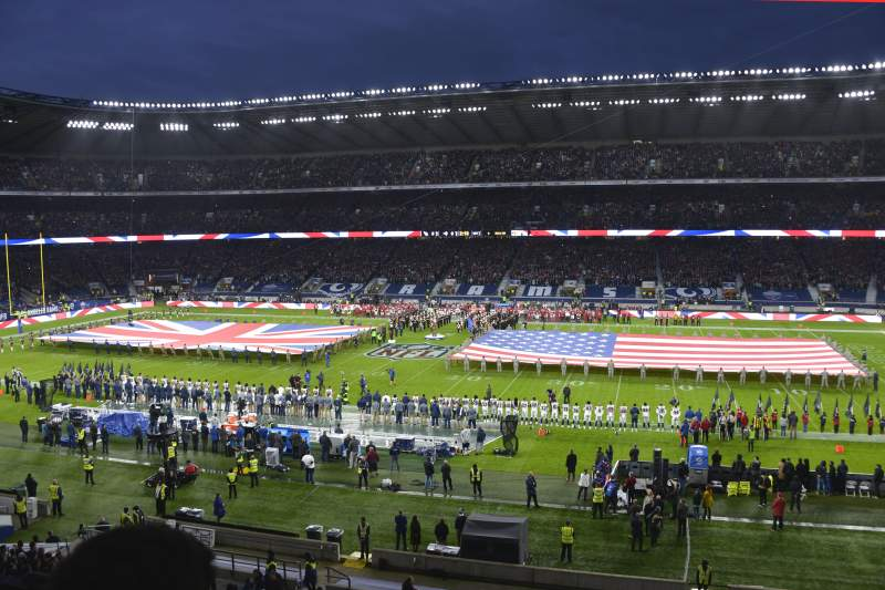 Twickenham Stadium, section: M5, row: 52, seat: 123